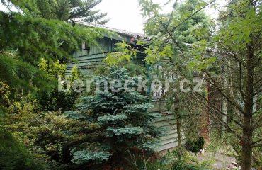 Pozemek s chatou, Pouchov, prodej