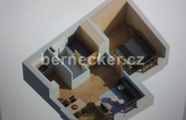 Apartmán 2+kk Deštné v Orlických horách