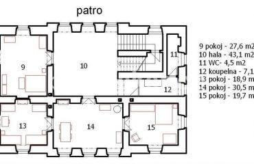 Barokní sídlo po rekonstrukci, PRODÁNO